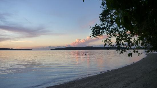 Sunset at Havannah Eco Lodges