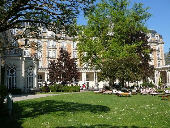 Club Med Vittel le Parc: Vue du Grand Hotel
