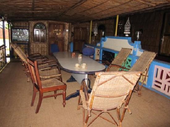 Ashtamudi Homestay: First floor common area