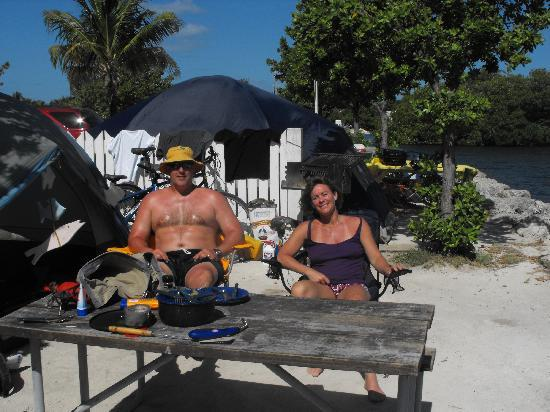 Boyd's Key West Campground: Lounging at Boyds