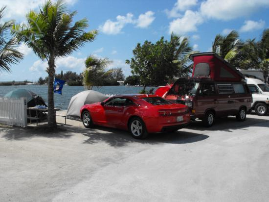 Boyd's Key West Campground: another beautiful day at Boyds