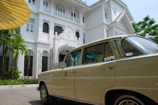 Ping Nakara Boutique Hotel & Spa: Arrived by Merc