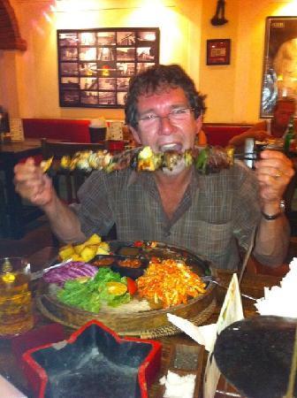 Havana Club Meat Skewer