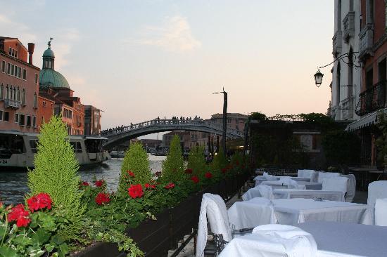 Hotel Principe: La terrazza su Canal Grande per aperitivi o colazioni
