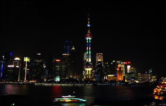 Hanting Express Shanghai The Bund Waibaidu Bridge: Night View