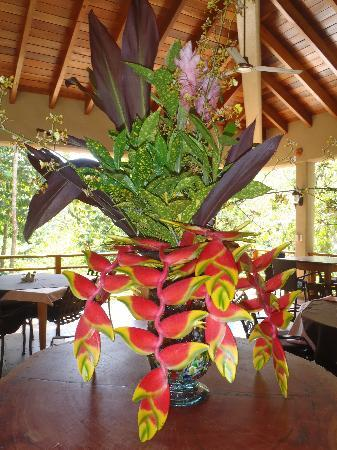 Mystic River Resort: Beautiful flowers from the property