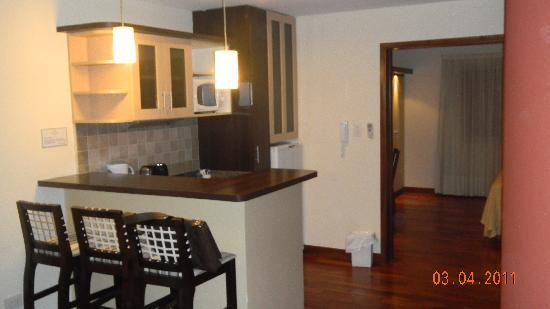 Ankara Suites: Vista interno do flat
