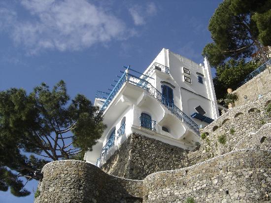 Villa San Michele: foto hotel a picco sul mare