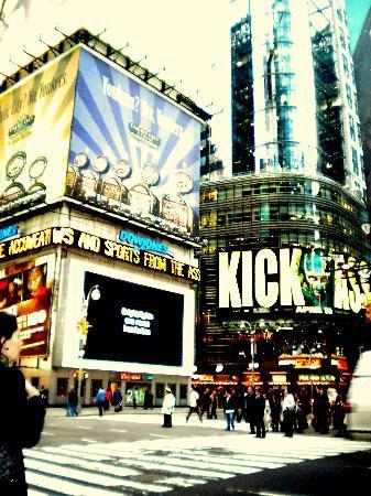 Nueva York, Estado de Nueva York: TIMES SQUARE