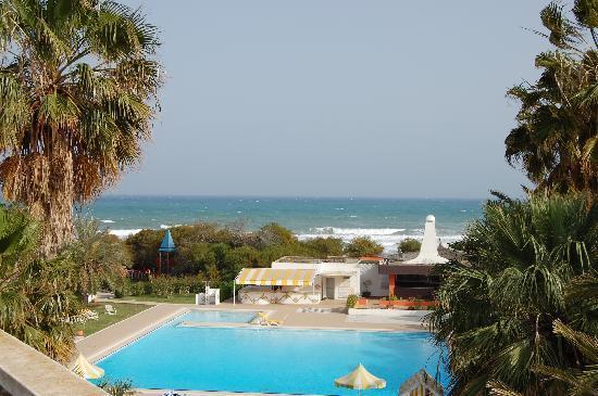 Hotel El Fell: La vue depuis le toit de l'hotel (accesoble si vous cherchez a y aller)