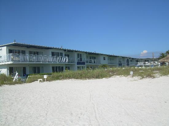 Blue Water Beach Club From The