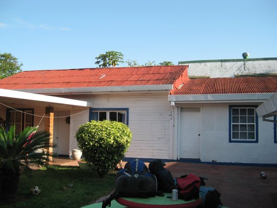Hostel Mango Verde: Courtyard