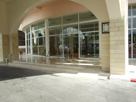 Hotel Abou Sofiane: new entrance