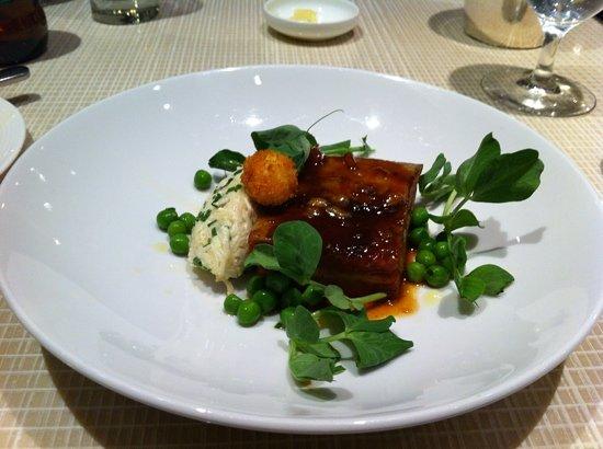 Maze: Pork Belly in cider glaze
