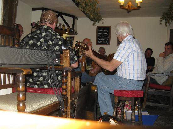 The Harp Inn: Live folk music - what a treat!