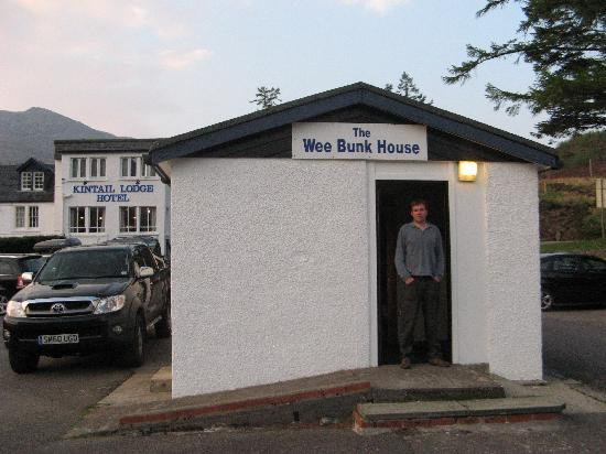 Shiel Bridge, UK: Me and the wee bunkhouse