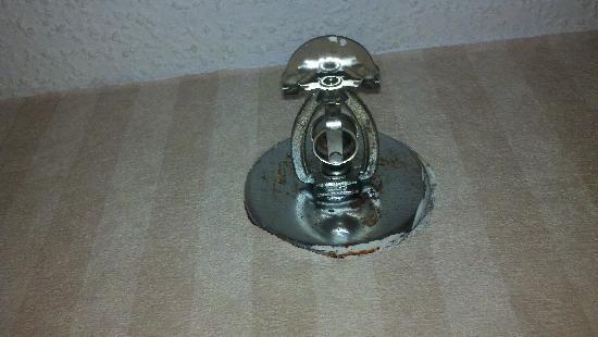 Baymont Inn & Suites Detroit/roseville: Rusted Sprinkler System