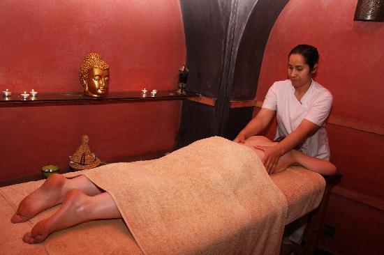 Villa Catherine : Salle de massage