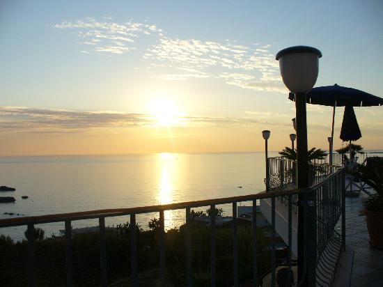 Hotel Citara: veduta dal terrazzo dell'hotel