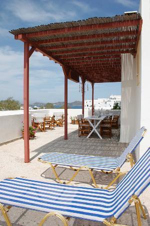 Hotel Manto: uper patio s