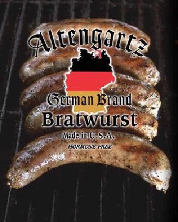 Altengartz German Brand Bratwurst: Simply the best!