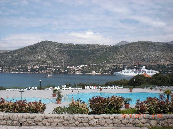 Valamar Club Dubrovnik : vue de l'hôtel