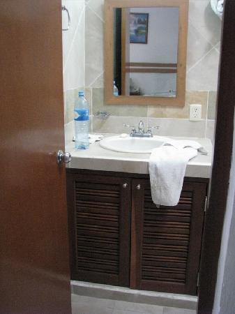 Hotel Plaza Almendros: Washroom