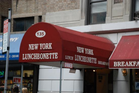New York Luncheonette The canopy says it all. & The canopy says it all. - Picture of New York Luncheonette New ...