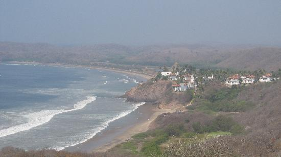 Punta Serena: View from the abandoned restaurant