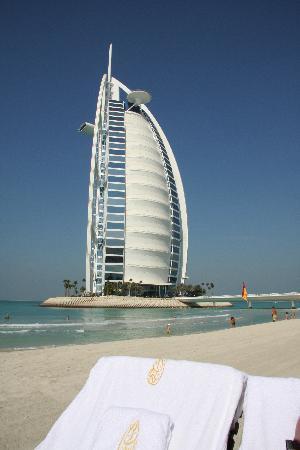 Burj Al Arab Jumeirah : Privatstrand Burj al Arab