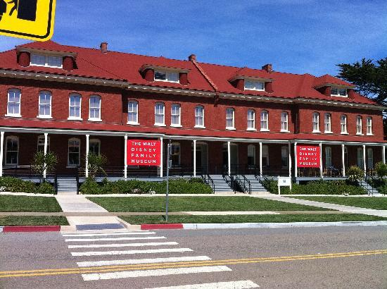 Walt Disney Family Museum: Exterior - the only place your camera is welcomed