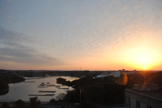 Mie Prefecture, Japão: 朝日の英虞湾