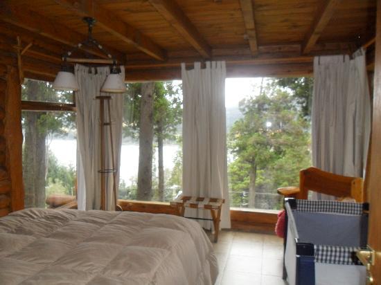 Cabañas Terrazas del Campanario: los grandes ventanales!! lo más lindo