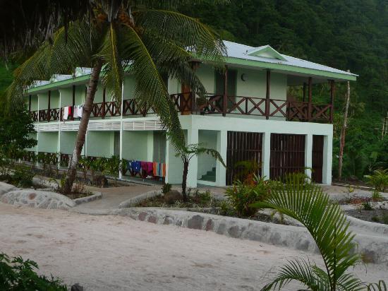 Saleapaga, Îles Samoa : Hotel