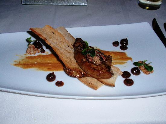 Marco Pierre White Steakhouse & Grill : Foie Gras with apple butter