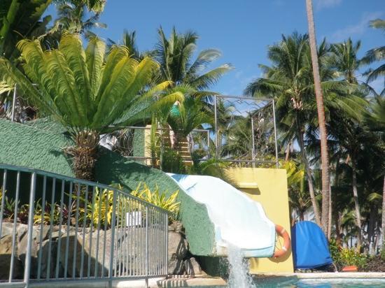Fiji Hideaway Resort & Spa: waterslide