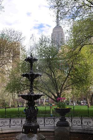 New York City Photo Safari : Fountain & Empire State