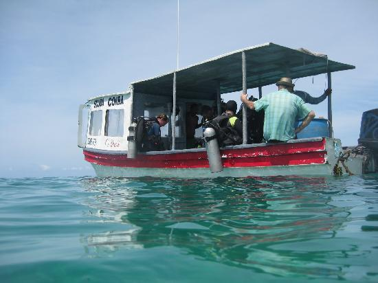Scuba Coiba: Dive Boat...La Orca