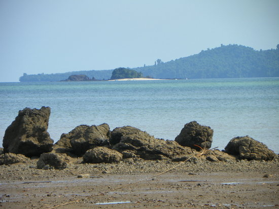 Santa Catalina, ปานามา: View from crock beach/ Coiba