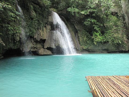 Kawasan Falls: there is nothing except this view