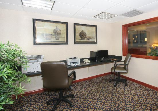Holiday Inn Express Walterboro: Business Center