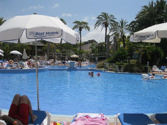 Hotel Best Tenerife: pool area