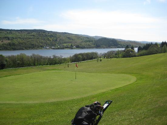 Tarbert Golf Club: View from the 8th tee.