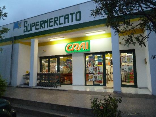 Supermarkt in der Nähe - Bild von Hotel Nettuno, Cala Gonone