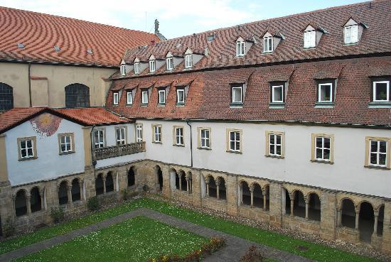 Arkaden Hotel im Kloster: View from our hotel room