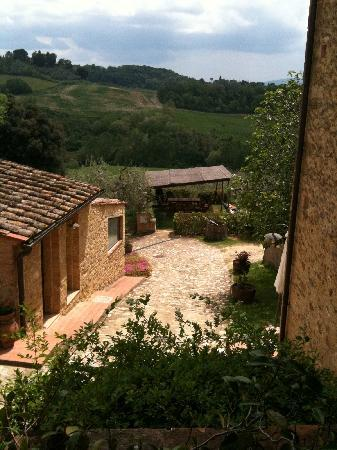Le Buche: View from Casa Padronale - sunny day