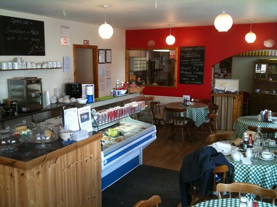 Penpont Tea Room: inside