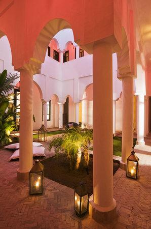 Riad Capaldi: Courtyard