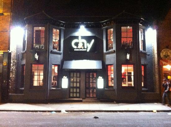 Chy Restaurant: The view from outside