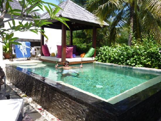 ذا تراوانجان ريزورت: private pool in villa